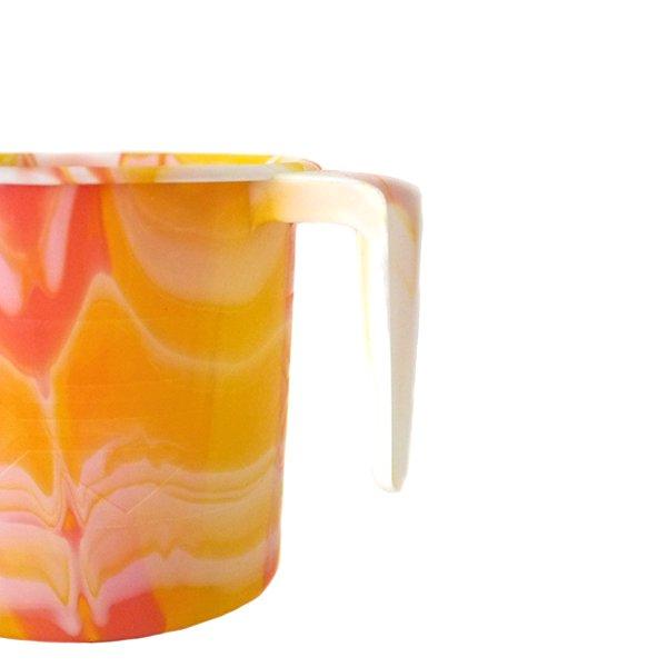 セネガル プラスチックコップ(0.4リットル イエロー)【画像2】