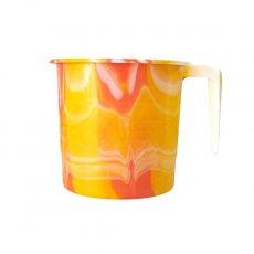 セネガル プラスチックコップ(0.4リットル イエロー)