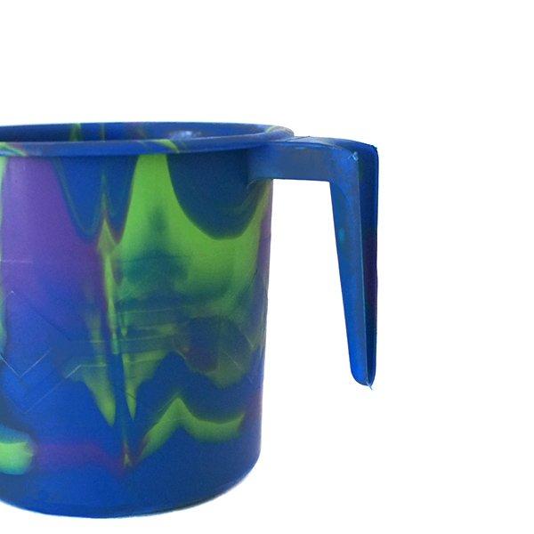 セネガル プラスチックコップ(0.4リットル ブルー)【画像3】