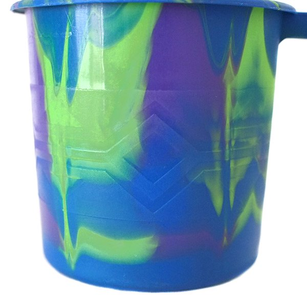 セネガル プラスチックコップ(0.4リットル ブルー)【画像4】