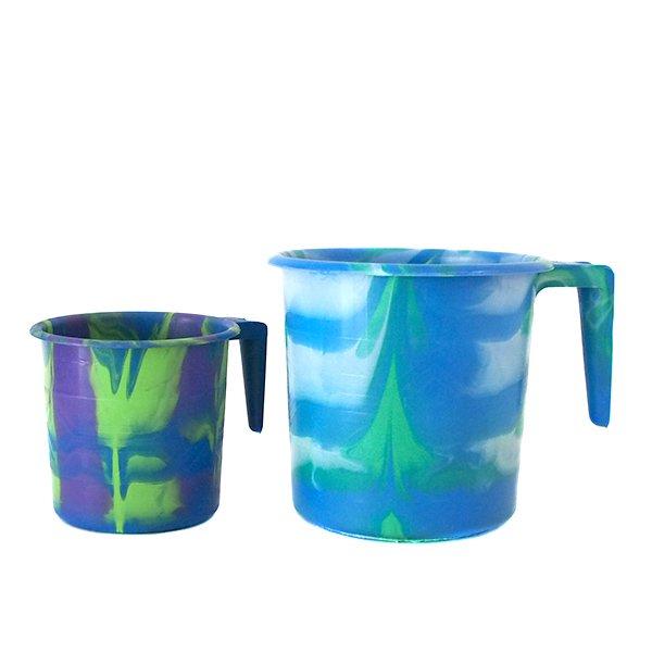 セネガル プラスチックコップ(0.4リットル ブルー)【画像5】