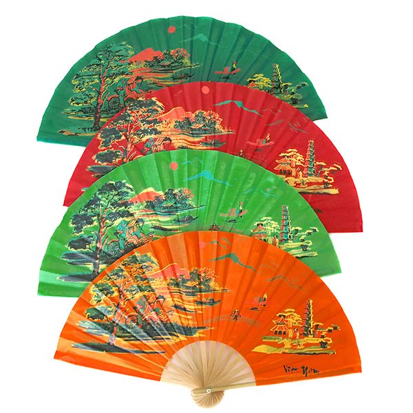 ベトナムの扇子(シクロ  L)