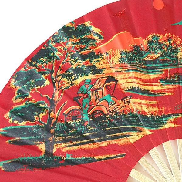 ベトナムの扇子(シクロ  L)【画像6】