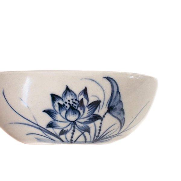 ベトナム バッチャン焼き 蓮の花 (小皿)【画像3】