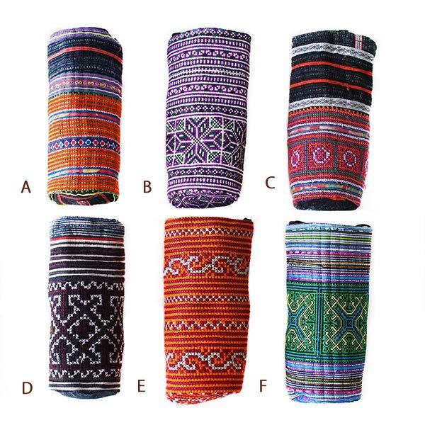 ベトナム モン族 刺繍 ペットボトル フォルダー (500ml)【画像2】