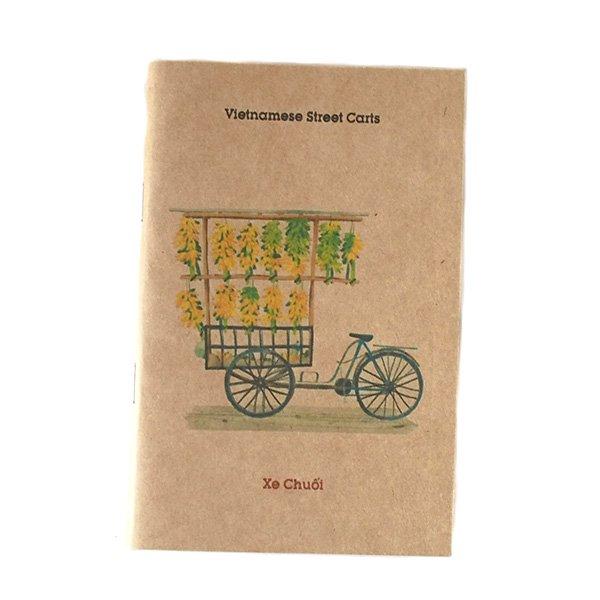 ベトナム ミニノート(Vietnamese Street Carts 屋台)【画像2】