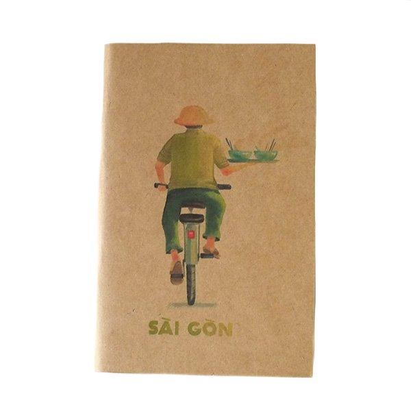 ベトナム ミニノート(SAIGON バイクと自転車)【画像2】