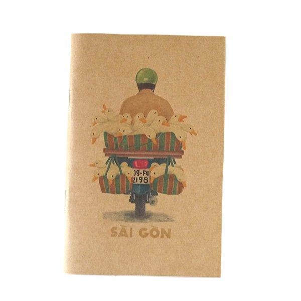 ベトナム ミニノート(SAIGON バイクと自転車)【画像4】