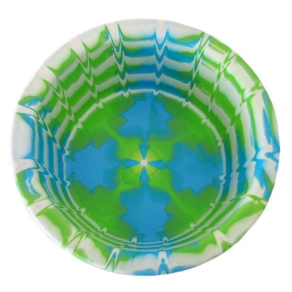 セネガル プラスチック 洗面器(直径 32cm グリーン)【画像2】