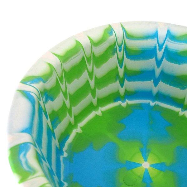 セネガル プラスチック 洗面器(直径 32cm グリーン)【画像3】