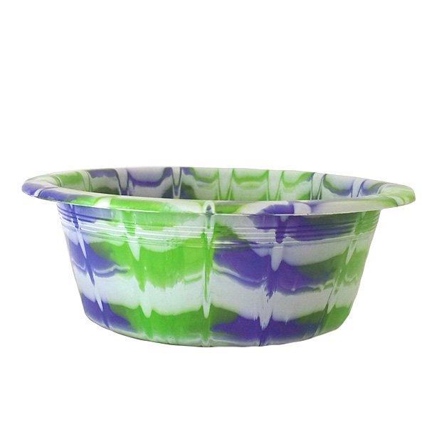 セネガル プラスチック 洗面器(直径 32cm パープル)