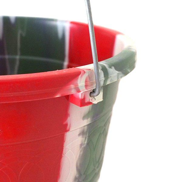 セネガル プラスチックバケツ(レッド  5リットル)【画像4】