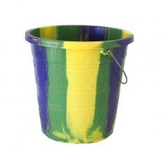 アフリカ プラスチック セネガル プラスチックバケツ(グリーン  5リットル)