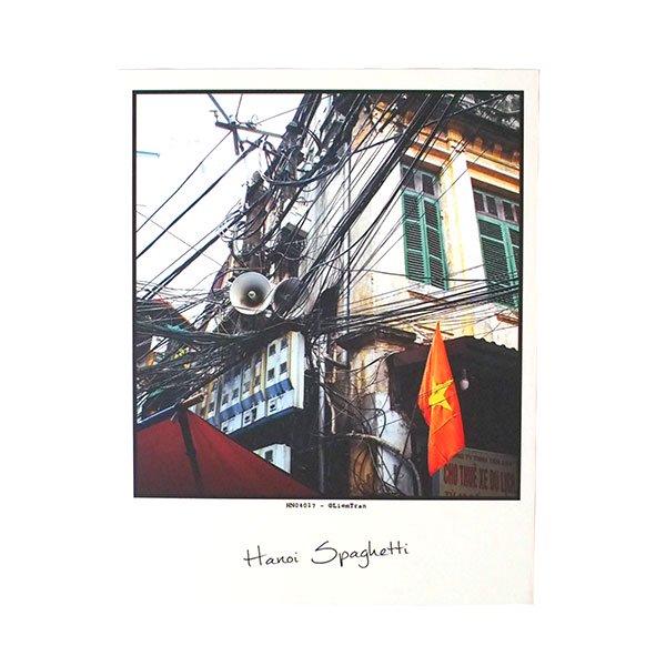 ベトナム ポストカード【ハノイのスパゲッティ】Hanoi Spaghetti