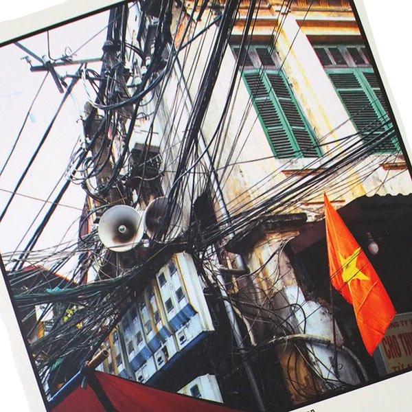 ベトナム ポストカード【ハノイのスパゲッティ】Hanoi Spaghetti【画像2】