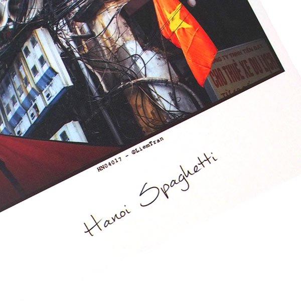 ベトナム ポストカード【ハノイのスパゲッティ】Hanoi Spaghetti【画像3】
