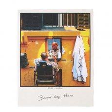 ベトナム ポストカード【ハノイの理髪店】Barber shop, Hanoi
