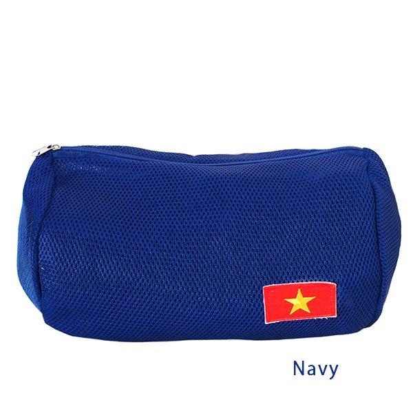 ベトナム 国旗 ワッペン ポーチ (メッシュ素材  3色)【画像4】