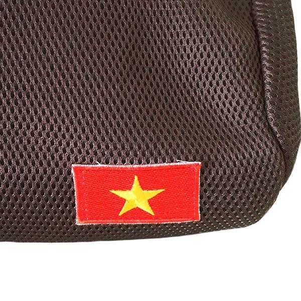 ベトナム 国旗 ワッペン ポーチ (メッシュ素材  3色)【画像5】