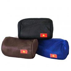 ベトナム 国旗 ワッペン ポーチ (メッシュ素材  3色)