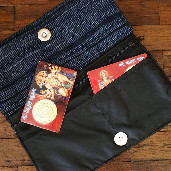 世界のお守り インド  神様カード(金運 ラクシュミー・ハヌマーン)【画像9】