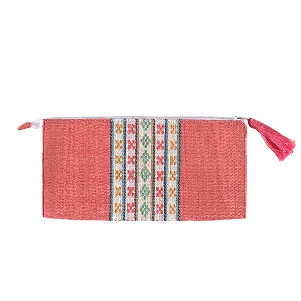 ベトナム 少数民族 ターイ族 手織り 長財布 ウォレット  A【画像2】