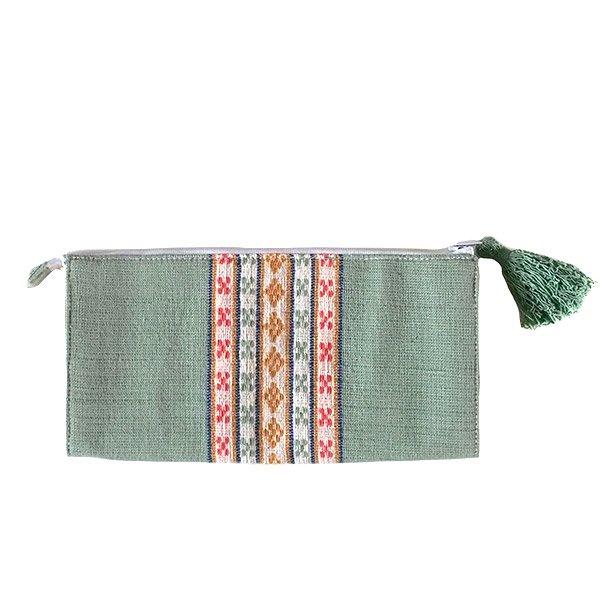 ベトナム 少数民族 ターイ族 手織り 長財布 ウォレット  A【画像3】