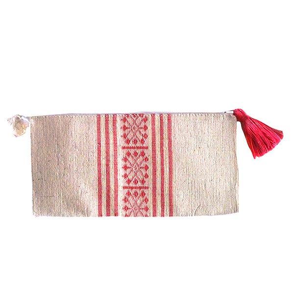 ベトナム 少数民族 ターイ族 手織り 長財布 ウォレット  A【画像4】