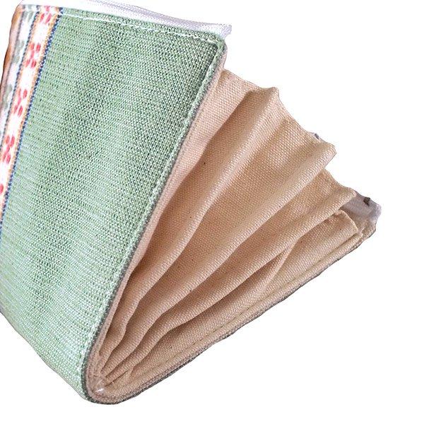 ベトナム 少数民族 ターイ族 手織り 長財布 ウォレット  A【画像8】