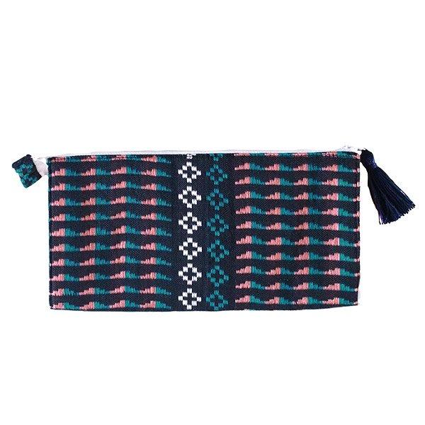 ベトナム 少数民族 ターイ族 手織り 長財布 ウォレット B【画像3】