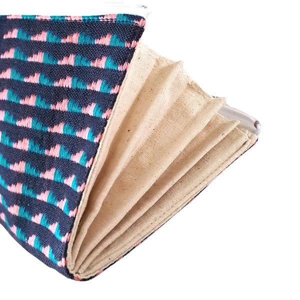 ベトナム 少数民族 ターイ族 手織り 長財布 ウォレット B【画像6】