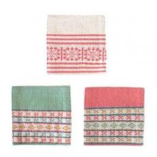 ベトナム 少数民族 ターイ族 手織り布 コースター