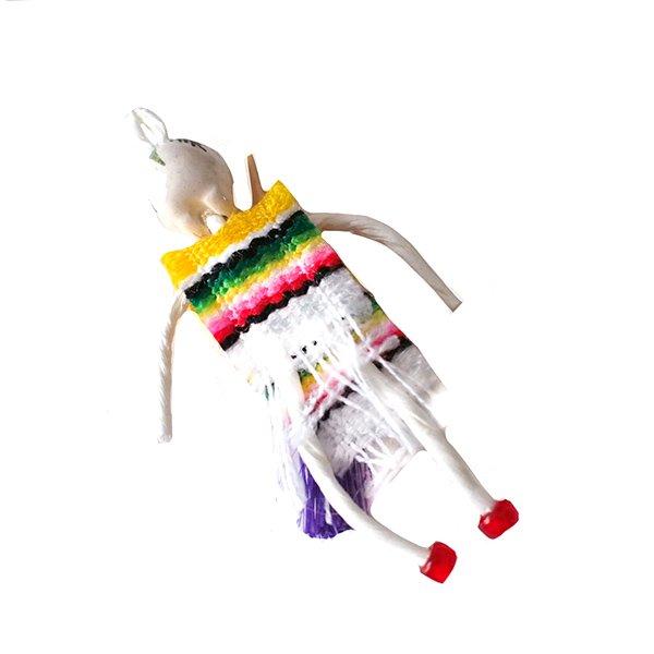 世界のお守り メキシコ Amuleto de Calaca(ガイコツの厄除け)【画像4】