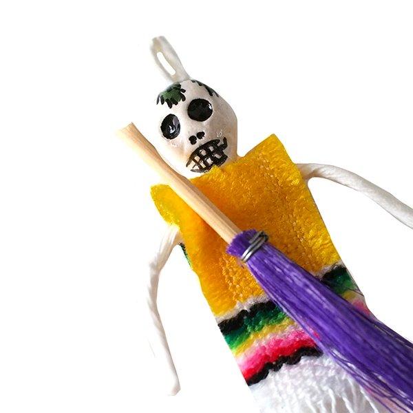 世界のお守り メキシコ Amuleto de Calaca(ガイコツの厄除け)【画像5】