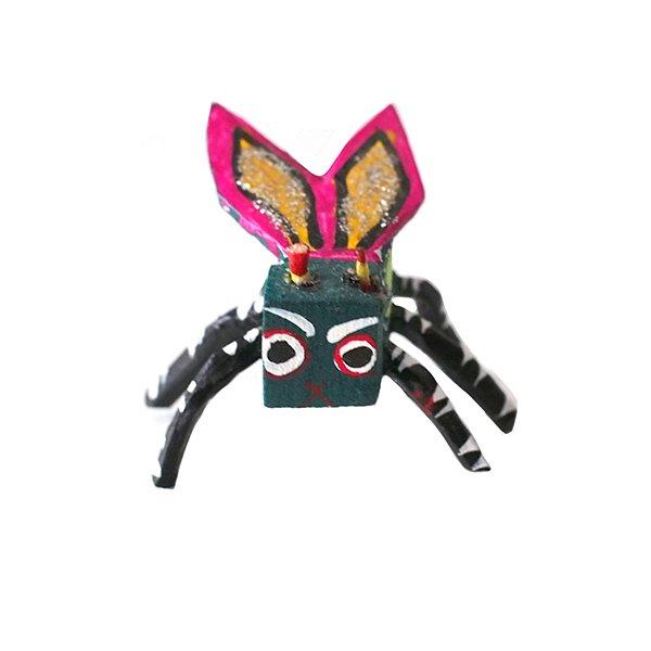 メキシコ ウッドカービング アレブリヘス(空想上の動物)【画像3】