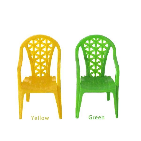 ベトナム  ミニチュア カラフル 椅子(4色)【画像3】
