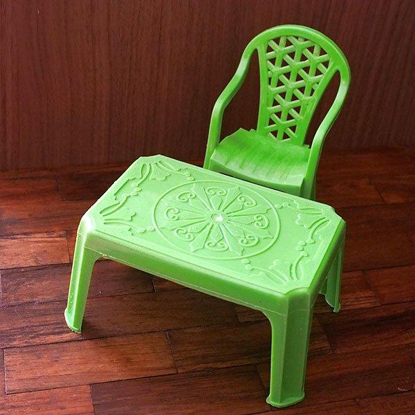 ベトナム  ミニチュア カラフル 椅子(4色)【画像4】