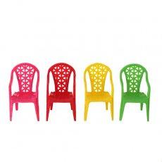 ベトナム  ミニチュア カラフル 椅子(4色)