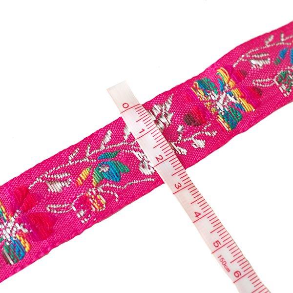 ベトナム チロリアンテープ 刺繍 2色(幅2.5cm/1m単位売り)【画像3】