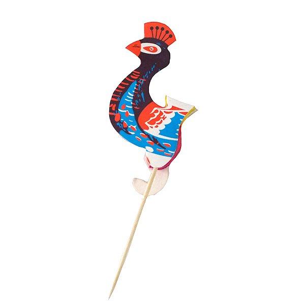 ベトナム ピーコック(孔雀) ピック(3本セット)【画像4】