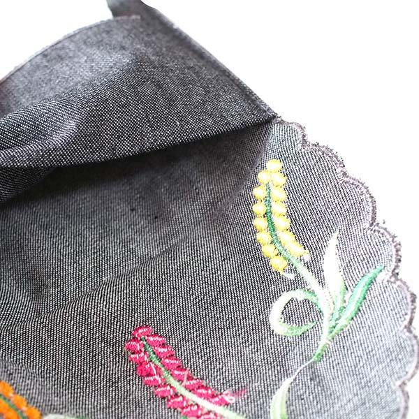 ベトナム  花 刺繍 ポケットティッシュケース(4色)【画像7】