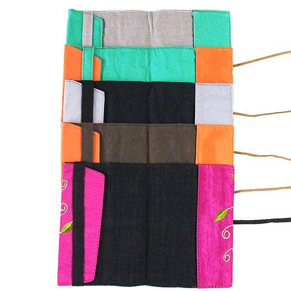 ベトナム 刺繍 ブックカバー【画像2】