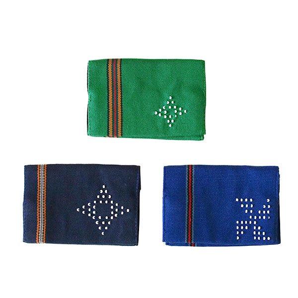 ベトナム 少数民族 カトゥー族 ビーズ手織り 名刺入れ(3色)
