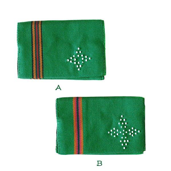 ベトナム 少数民族 カトゥー族 ビーズ手織り 名刺入れ(3色)【画像2】