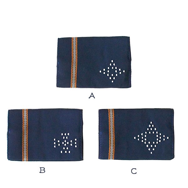 ベトナム 少数民族 カトゥー族 ビーズ手織り 名刺入れ(3色)【画像3】