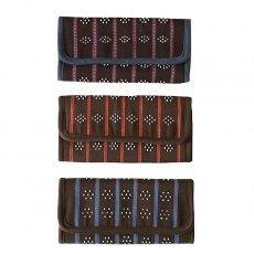 ベトナム カトゥー族 ビーズ手織り 長財布