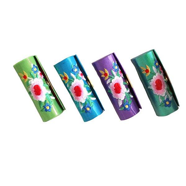 ベトナム 花 刺繍 リップケース(花 12色)【画像4】