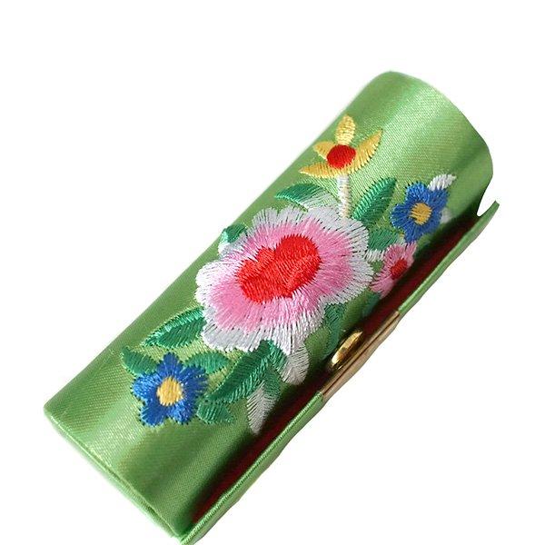 ベトナム 花 刺繍 リップケース(花 12色)【画像6】