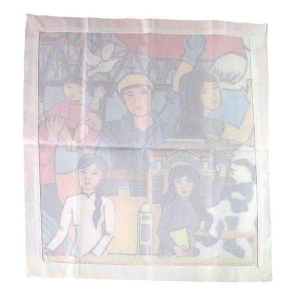 ベトナム プロパガンダ アート ランチマット 3種(正方形)【画像5】