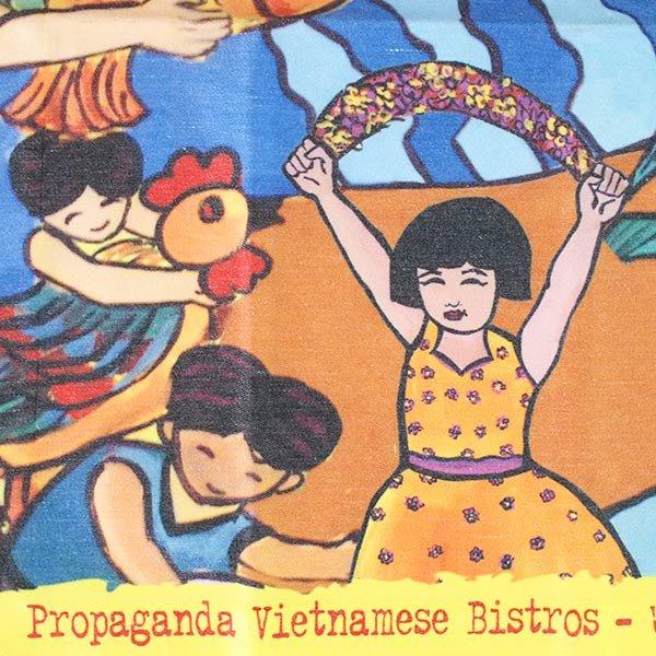 ベトナム プロパガンダ アート ランチマット 3種(正方形)【画像8】